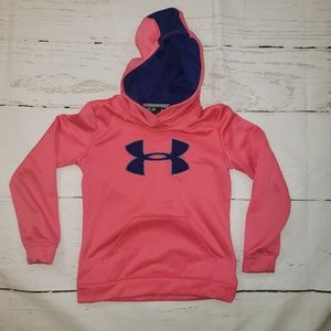 Under Armour YMD pink/blue hoodie